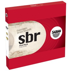 SABIAN SBR FIRST PACK - комплект чинели