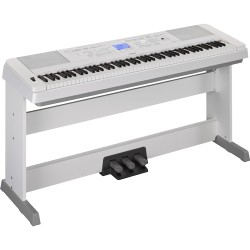 YAMAHA KEYBOARDS DGX-660 WHITE_BUNDLE