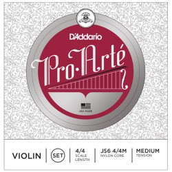 D'ADDARIO J56 4/4M - струни за цигулка