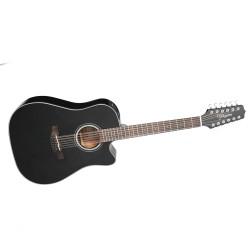 TAKAMINE GD30CE-12-BK, 12-струнна електро-акустична китара