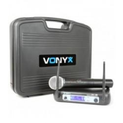 Безжичен вокален микрофон с куфар WM511 1-Channel VHF