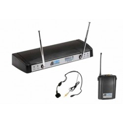 DB PU860 L - headset - безжичен микрофон за глава