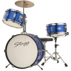STAGG, TIM JR 3/16 BL - детски барабани, пълен комплект