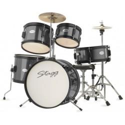 STAGG, TIM JR 5/16 BK - детски барабани, пълен комплект