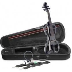 STAGG EVN X-4/4 BK - елeктрическа цигулка