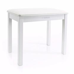YAMAHA B1 Стол за пиано бял