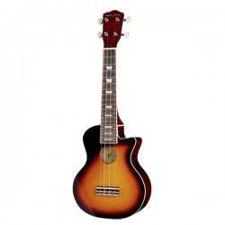 Сопрано електроакустично укулеле - Harley Benton UK-L100E VS