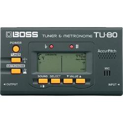 Тунер с метроном - Boss TU-80