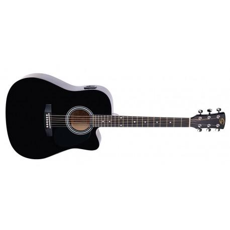 Електроакустична китара Soundsation Yosemite DNCE-BK
