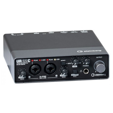 Steinberg UR22C - 2x2 USB 3.0 AUDIO INTERFACE