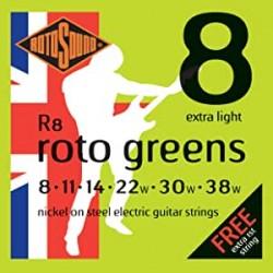 RotoSound R8 green - стр.електрическа китара