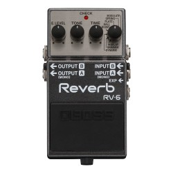 Reverb effect - Boss RV-6