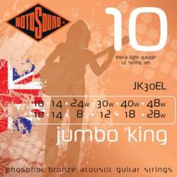 Струни за 12 струнна китара  - Rotosound JK30EL