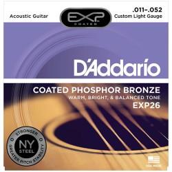 "Струни за акустична китара D""Addario  EXP26"