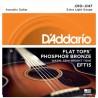 Струни акустична китара D'Addario EFT15