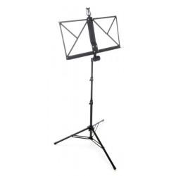 Алуминиева стойка за ноти с калъф - Thomann Music Stand Aluminium Black