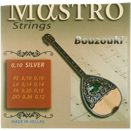 СТРУНИ ЗА БУЗУКИ Mastro Bouzouki 8 Strings 010 SP