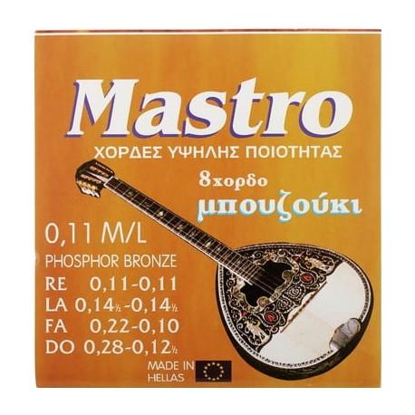 СТРУНИ ЗА БУЗУКИ Mastro Bouzouki 8 Strings 011 SP
