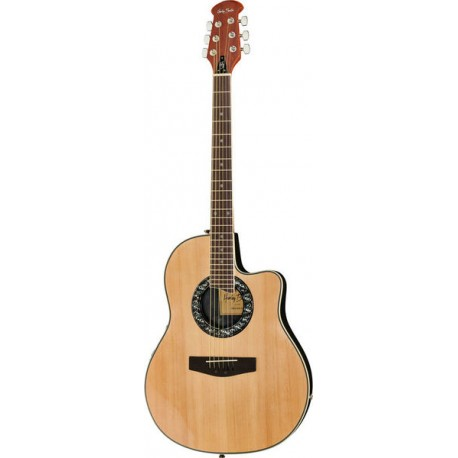 Електроакустична китара -  Harley Benton HBO-600NAT