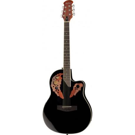 Електроакустична китара -  Harley Benton HBO-850 BK