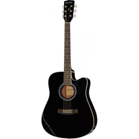 Електроакустична китара Harley Benton D-120CE BK