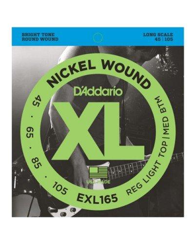 D'Addario EXL 165 - струни за бас китара