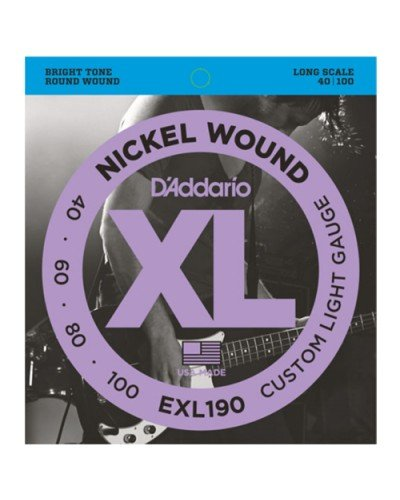 D'Addario  EXL190 - струни за бас китара