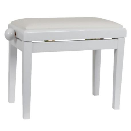 Стол пиано KD 20 -DISCACCIATI PIANO BENCH WHITE HIGH GLOSS