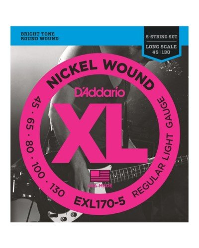 D'Addario EXL170-5 - струни за бас китара