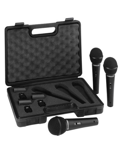 Behringer XM1800S - динамични  микрофони комплект от 3 броя