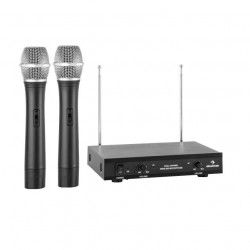 Auna VHF-2-H - Сет от 2 безжични ръчни микрофона