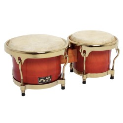 GEWA DRUM & PERCUSSION BONGO CLUB SALSA CHROME HARDWARE - бонгоси