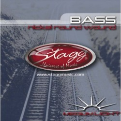 STAGG BA-4500 струни за 4 струнен бас