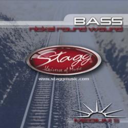 Stagg BA-4525-5S струни 5 струнен бас