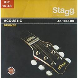 Stagg AC-1048-BR струни за акустична китара