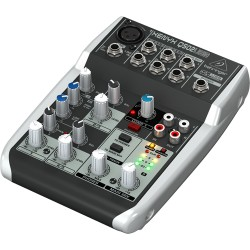BEHRINGER XENYX Q502 USB Миксер с аудио интерфейс