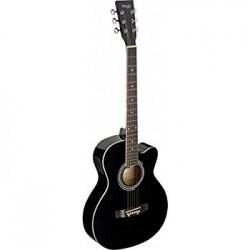 Stagg SA20ACE BLK - електро-акустична китара