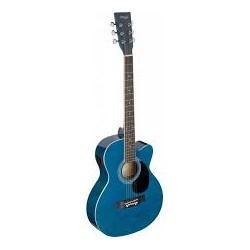 Stagg SA20ACE BLUE - електро-акустична китара