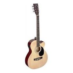 Stagg SA20ACE NAT - електро-акустична китара
