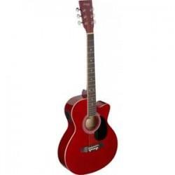 Stagg SA20ACE RED - електро-акустична китара