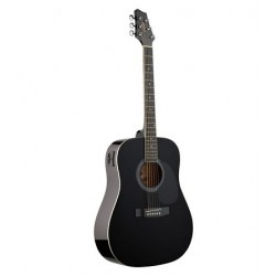 Stagg SW201BK-VT електро-акустична китара