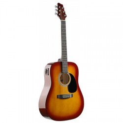 Stagg SW201 CS-VT електро-акустична китара