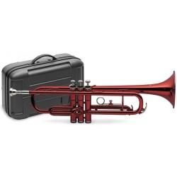 STAGG 77-T тромпет цветен червен син черен Bb