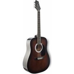 Stagg SW201 BKS акустична китара