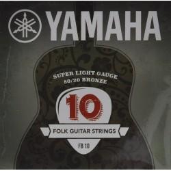 YAMAHA FB10 - струни за акустична китара