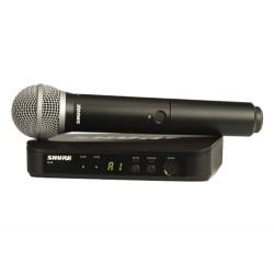 безжичен микрофон SHURE BLX24E/PG58