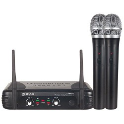 Tronios STWM722 Безжичен двоен микрофон вокален UHF