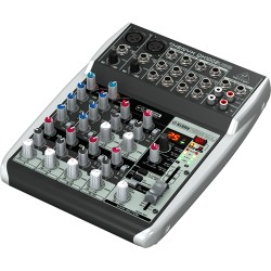 BEHRINGER XENYX QX1002 USB миксер с аудио интерфейс