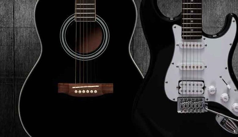 Електрически и акустични китари